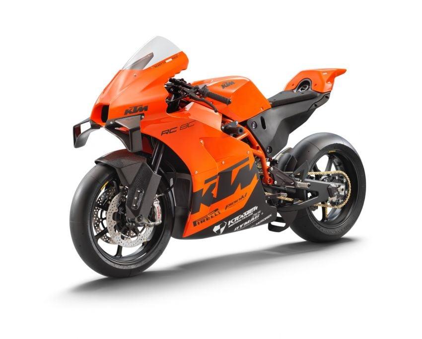 2021 KTM RC 8C limited – track only, 128 hp, 140 kg Image #1321258