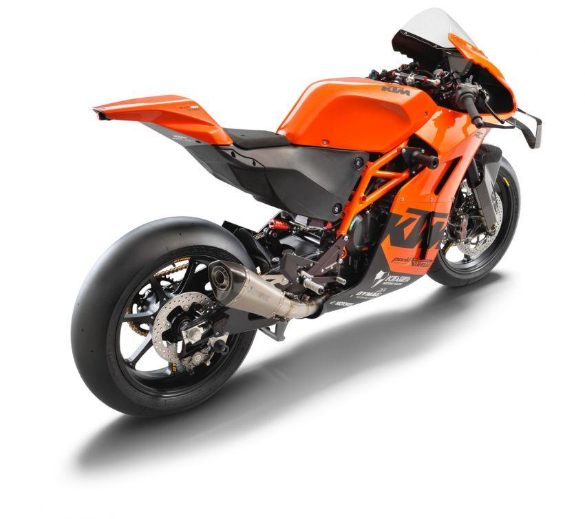 2021 KTM RC 8C limited – track only, 128 hp, 140 kg Image #1321260
