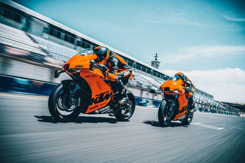 2021 KTM RC 8C limited – track only, 128 hp, 140 kg Image #1321262