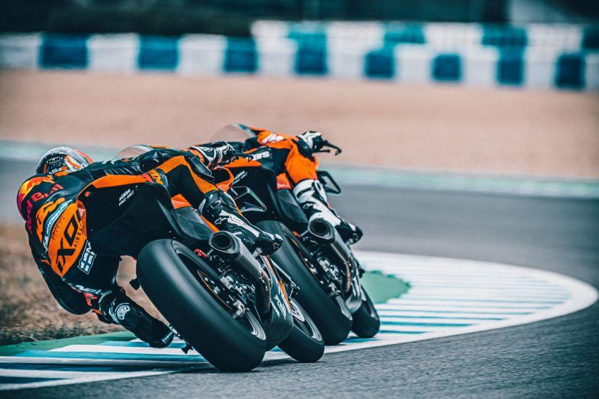 2021 KTM RC 8C limited – track only, 128 hp, 140 kg Image #1321265