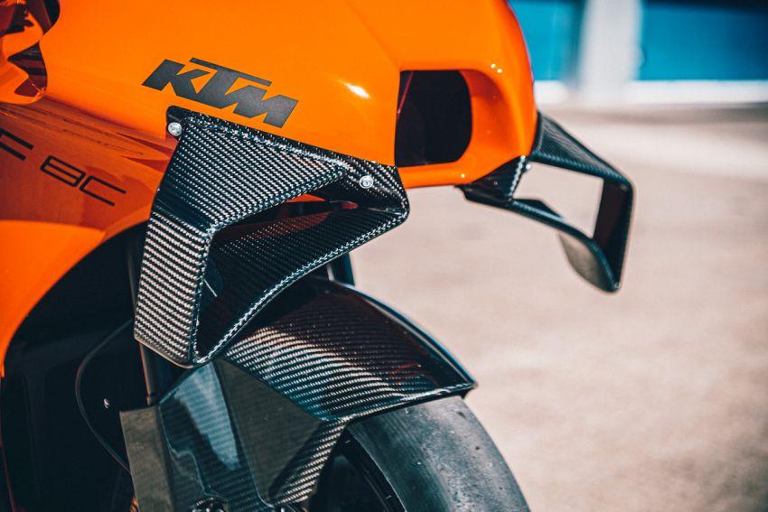 2021 KTM RC 8C limited – track only, 128 hp, 140 kg Image #1321266