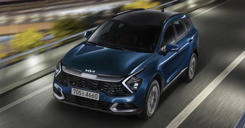 2021 Kia Sportage Hybrid debuts in South Korea – 1.6L turbo engine and e-motor; 230 PS, 350 Nm; 16.7 km/l Image #1322208