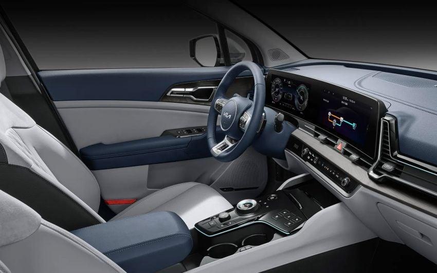 2021 Kia Sportage Hybrid debuts in South Korea – 1.6L turbo engine and e-motor; 230 PS, 350 Nm; 16.7 km/l Image #1322214