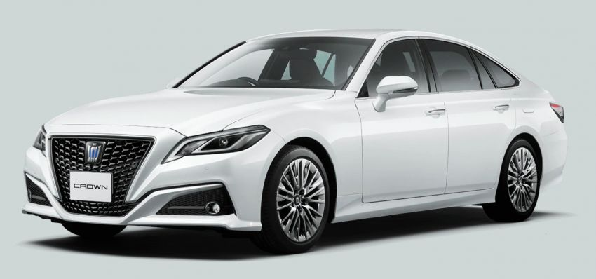 2021 Toyota Crown limited editions offered for the Japanese market – RS Limited II and Elegance Style III Image #1317212
