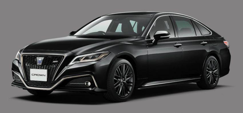 Toyota Crown 2021 edisi terhad diperkenalkan di Jepun Image #1317437