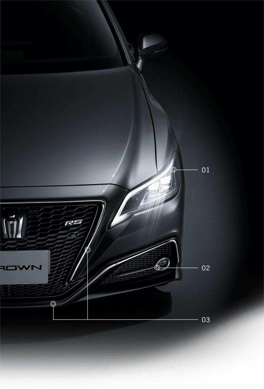 Toyota Crown 2021 edisi terhad diperkenalkan di Jepun Image #1317429