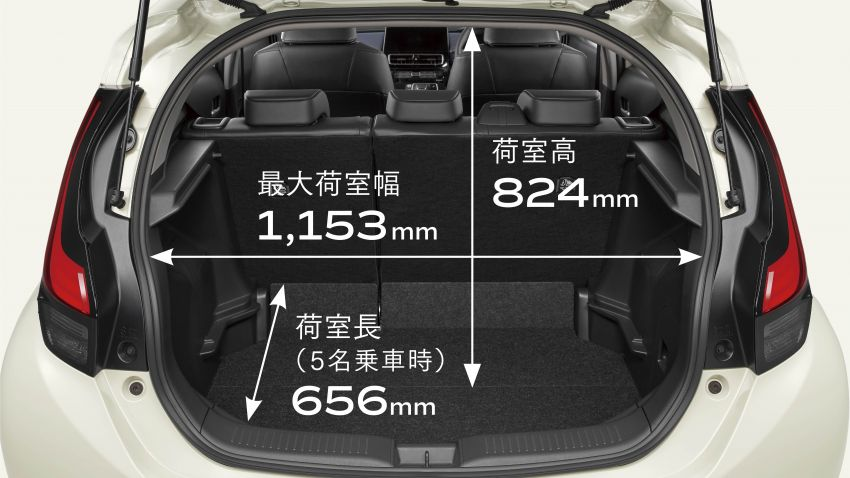 2021 Toyota Prius c revealed – TNGA-B platform, 1.5L Dynamic Force 3-cylinder, new bipolar NiMH battery Image #1320657