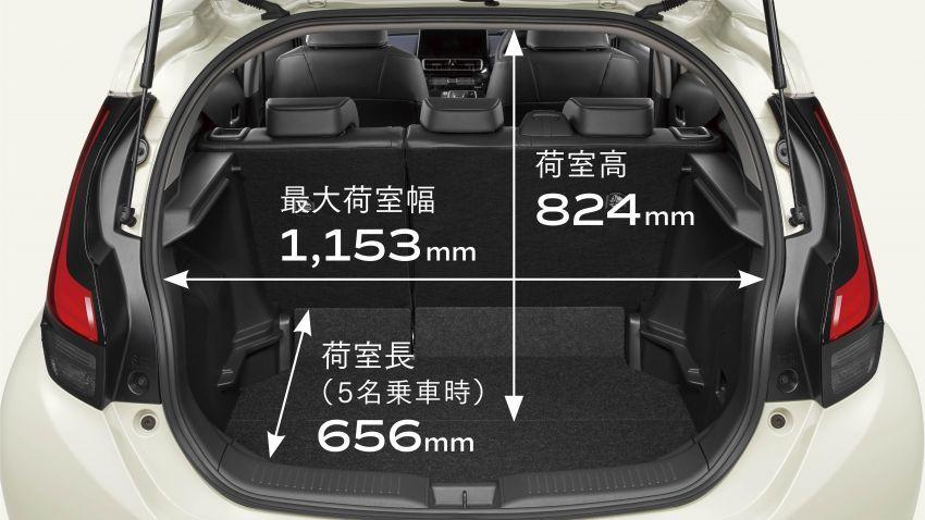 Toyota Prius C 2021 didedahkan — platform TNGA-B, 1.5L Dynamic Force 3-silinder, bateri bipolar NiMH Image #1321316