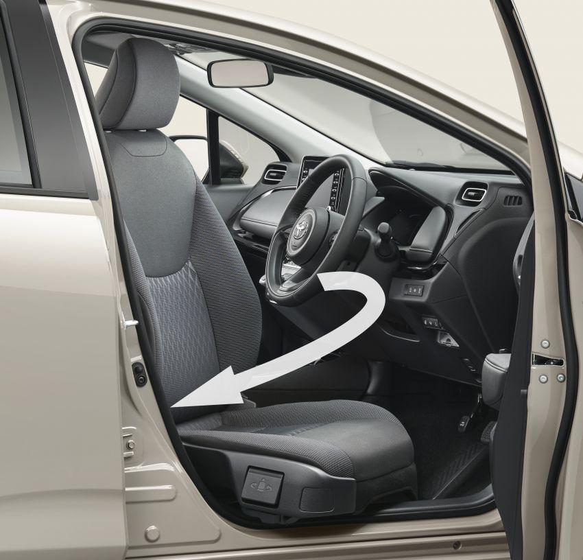 2021 Toyota Prius c revealed – TNGA-B platform, 1.5L Dynamic Force 3-cylinder, new bipolar NiMH battery Image #1320661
