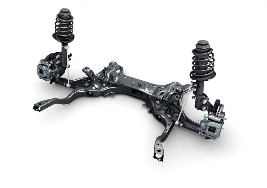 Toyota Prius C 2021 didedahkan — platform TNGA-B, 1.5L Dynamic Force 3-silinder, bateri bipolar NiMH Image #1321320