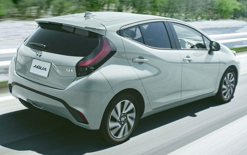 2021 Toyota Prius c revealed – TNGA-B platform, 1.5L Dynamic Force 3-cylinder, new bipolar NiMH battery Image #1320643