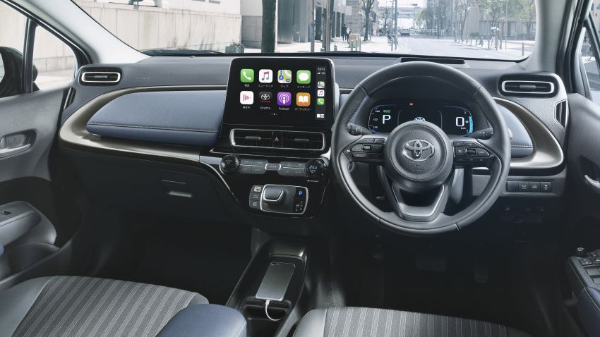 Toyota Prius C 2021 didedahkan — platform TNGA-B, 1.5L Dynamic Force 3-silinder, bateri bipolar NiMH Image #1321302