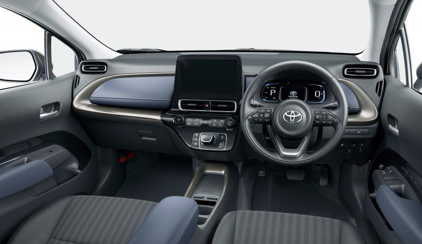 Toyota Prius C 2021 didedahkan — platform TNGA-B, 1.5L Dynamic Force 3-silinder, bateri bipolar NiMH Image #1321303