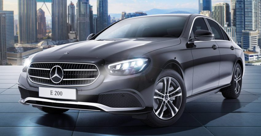 2021 Mercedes-Benz E-Class facelift launched in Malaysia – E200 and E300 variants; from RM327k Image #1324475
