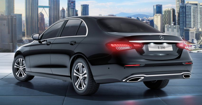 2021 Mercedes-Benz E-Class facelift launched in Malaysia – E200 and E300 variants; from RM327k Image #1324476