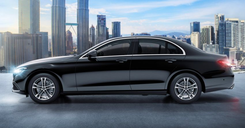 2021 Mercedes-Benz E-Class facelift launched in Malaysia – E200 and E300 variants; from RM327k Image #1324478