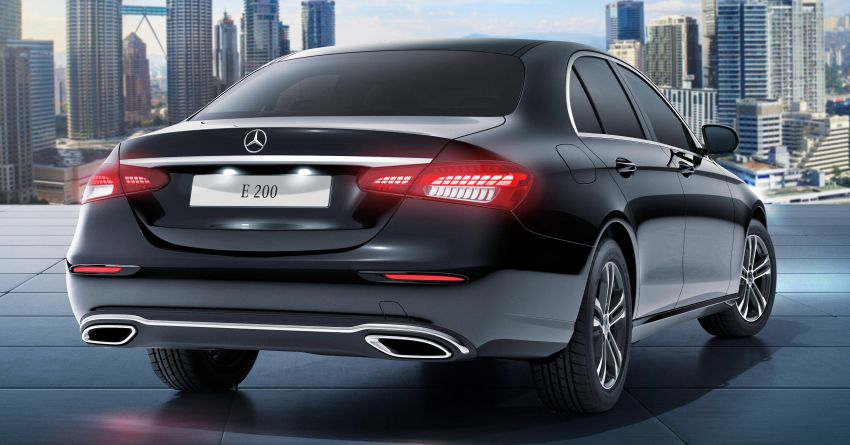 2021 Mercedes-Benz E-Class facelift launched in Malaysia – E200 and E300 variants; from RM327k Image #1324479