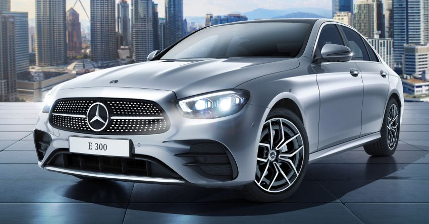 2021 Mercedes-Benz E-Class facelift launched in Malaysia – E200 and E300 variants; from RM327k Image #1324482