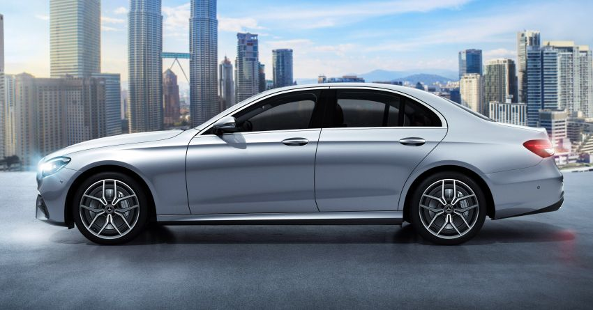 2021 Mercedes-Benz E-Class facelift launched in Malaysia – E200 and E300 variants; from RM327k Image #1324484