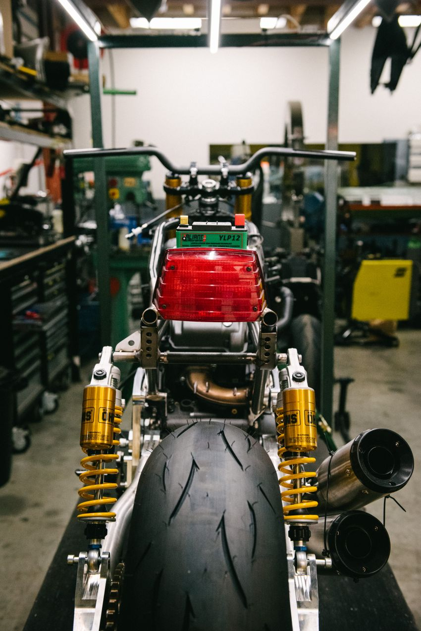 """Workhorse Speed Shop builds """"Black Swan"""" and """"FTR AMA"""", based on Indian Motorcycle FTR flat tracker Image #1323337"""