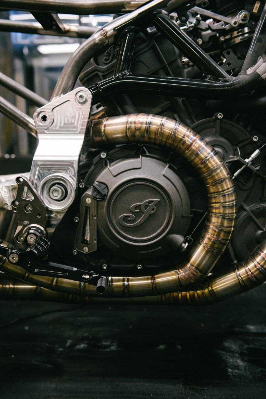"""Workhorse Speed Shop builds """"Black Swan"""" and """"FTR AMA"""", based on Indian Motorcycle FTR flat tracker Image #1323326"""