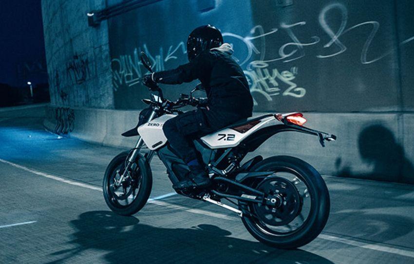 2022 Zero Motorcycles FXE 7.2 is a motard e-bike Image #1319330