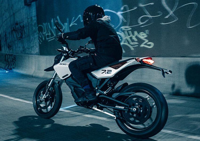 2022 Zero Motorcycles FXE 7.2 is a motard e-bike Image #1319327