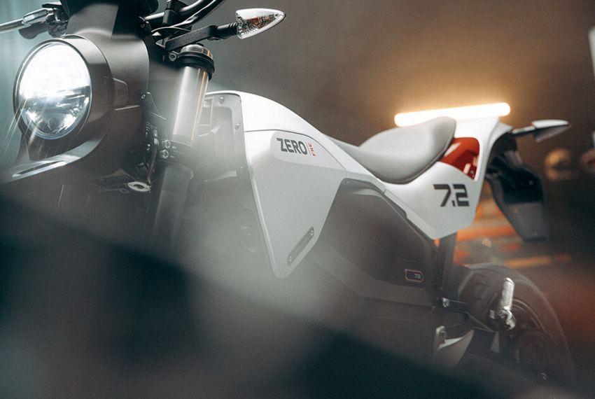 2022 Zero Motorcycles FXE 7.2 is a motard e-bike Image #1319329