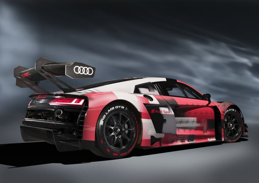 2022 Audi R8 LMS GT3 evo II racer gets revised aero, electronics; more suspension adjustment and air-con Image #1321877