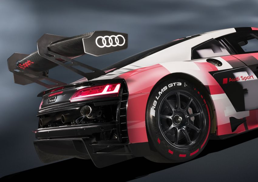 2022 Audi R8 LMS GT3 evo II racer gets revised aero, electronics; more suspension adjustment and air-con Image #1321878