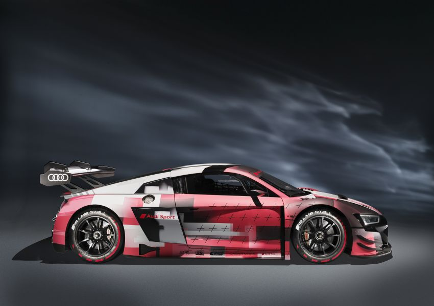 2022 Audi R8 LMS GT3 evo II racer gets revised aero, electronics; more suspension adjustment and air-con Image #1321879