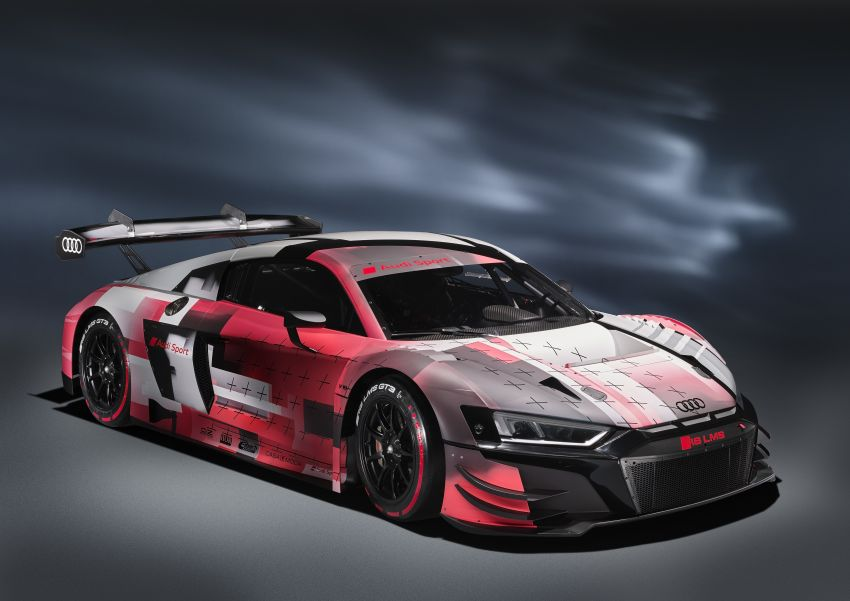 2022 Audi R8 LMS GT3 evo II racer gets revised aero, electronics; more suspension adjustment and air-con Image #1321883