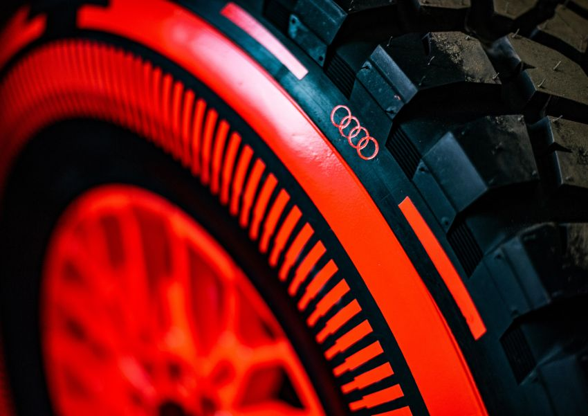 Audi RS Q e-tron – twin motor electric off-roader, TFSI engine to recharge battery; to race in 2022 Dakar Rally Image #1322840