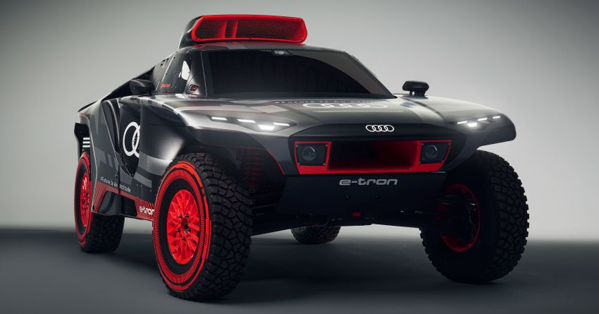 Audi RS Q e-tron – twin motor electric off-roader, TFSI engine to recharge battery; to race in 2022 Dakar Rally Image #1322872