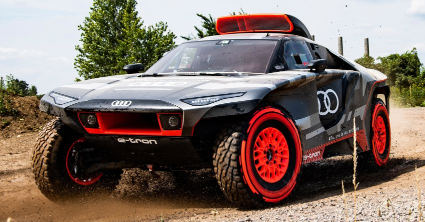 Audi RS Q e-tron – twin motor electric off-roader, TFSI engine to recharge battery; to race in 2022 Dakar Rally Image #1322848