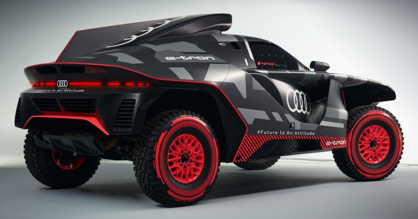 Audi RS Q e-tron – twin motor electric off-roader, TFSI engine to recharge battery; to race in 2022 Dakar Rally Image #1322873