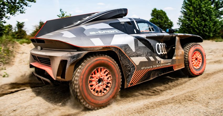 Audi RS Q e-tron – twin motor electric off-roader, TFSI engine to recharge battery; to race in 2022 Dakar Rally Image #1322854