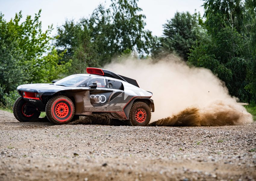 Audi RS Q e-tron – twin motor electric off-roader, TFSI engine to recharge battery; to race in 2022 Dakar Rally Image #1322859
