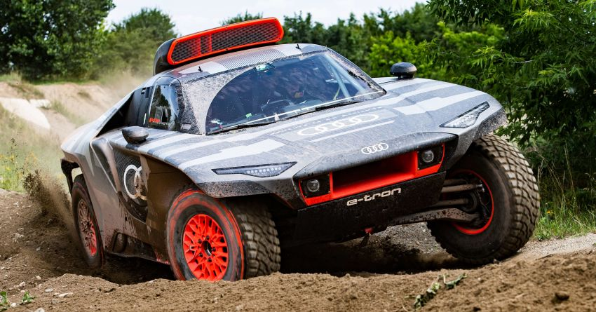 Audi RS Q e-tron – twin motor electric off-roader, TFSI engine to recharge battery; to race in 2022 Dakar Rally Image #1322862