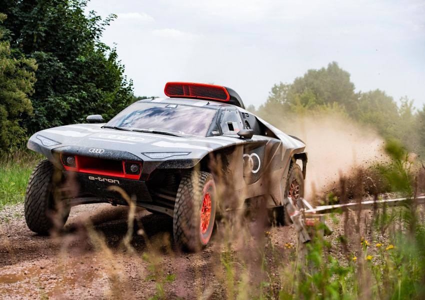 Audi RS Q e-tron – twin motor electric off-roader, TFSI engine to recharge battery; to race in 2022 Dakar Rally Image #1322868