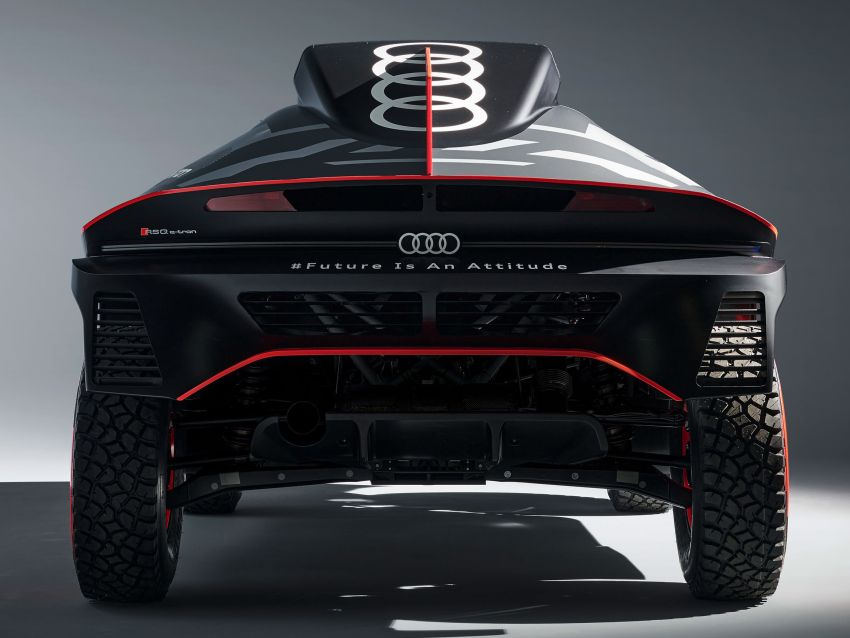 Audi RS Q e-tron – twin motor electric off-roader, TFSI engine to recharge battery; to race in 2022 Dakar Rally Image #1322877