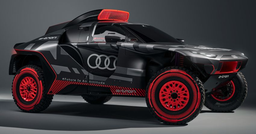 Audi RS Q e-tron – twin motor electric off-roader, TFSI engine to recharge battery; to race in 2022 Dakar Rally Image #1322878