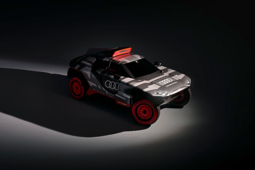 Audi RS Q e-tron – twin motor electric off-roader, TFSI engine to recharge battery; to race in 2022 Dakar Rally Image #1322879