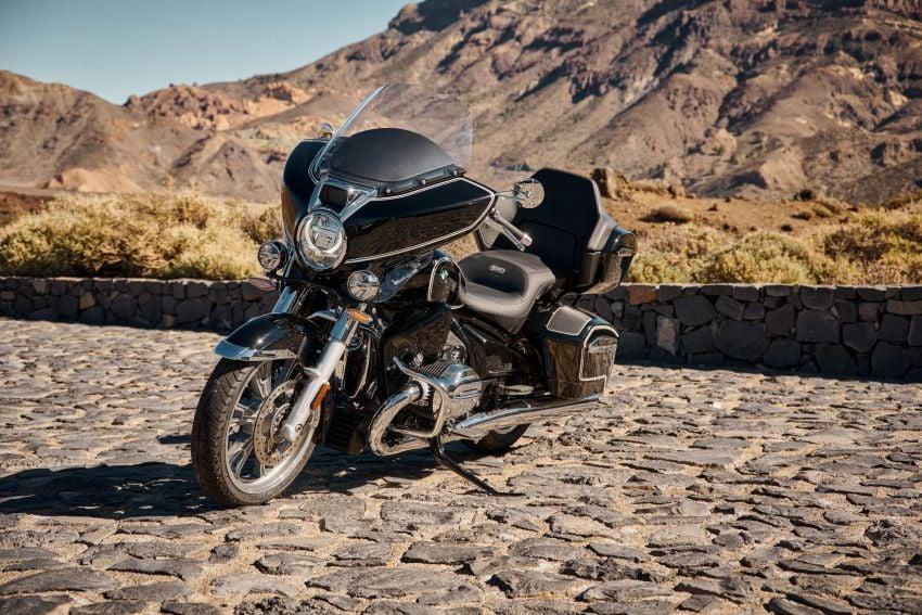 2022 BMW Motorrad R18 gets R18 Transcontinental and R18B Bagger variants, Marshall sound system Image #1324833