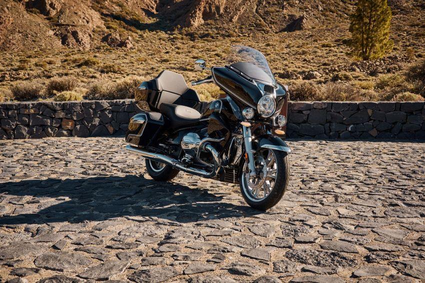 2022 BMW Motorrad R18 gets R18 Transcontinental and R18B Bagger variants, Marshall sound system Image #1324842