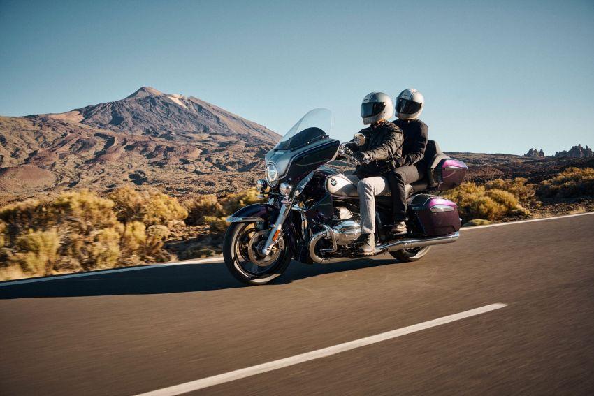 2022 BMW Motorrad R18 gets R18 Transcontinental and R18B Bagger variants, Marshall sound system Image #1324843