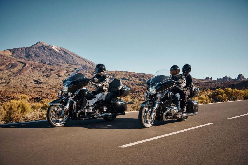 2022 BMW Motorrad R18 gets R18 Transcontinental and R18B Bagger variants, Marshall sound system Image #1324844