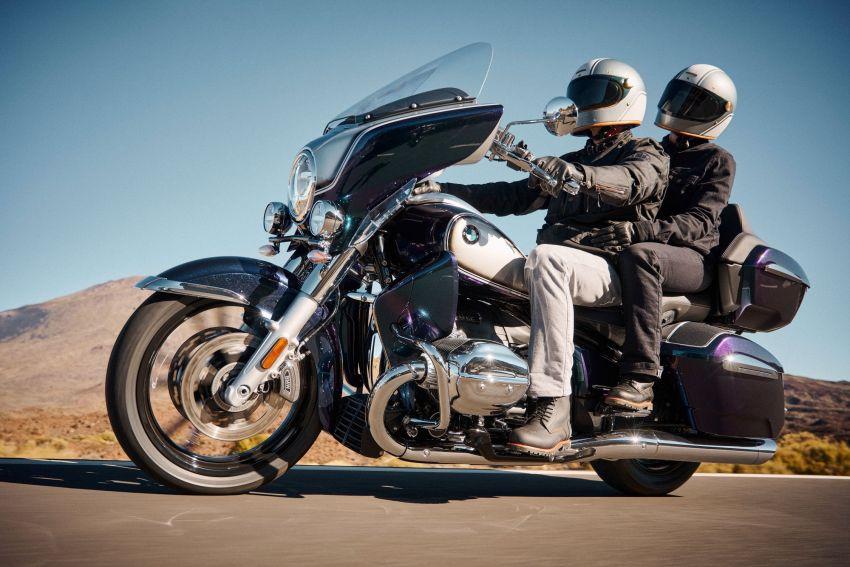 2022 BMW Motorrad R18 gets R18 Transcontinental and R18B Bagger variants, Marshall sound system Image #1324846