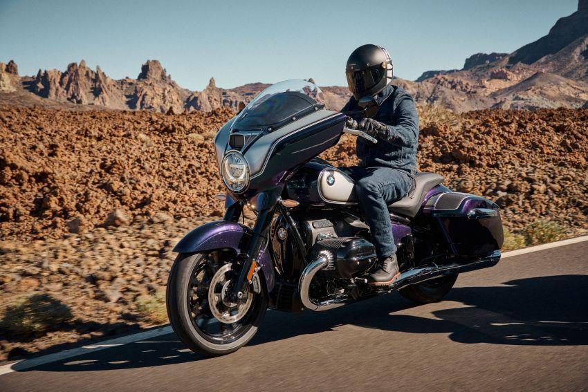2022 BMW Motorrad R18 gets R18 Transcontinental and R18B Bagger variants, Marshall sound system Image #1324853
