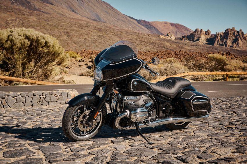 2022 BMW Motorrad R18 gets R18 Transcontinental and R18B Bagger variants, Marshall sound system Image #1324856